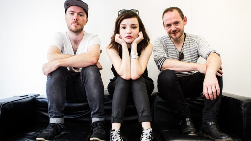 "Chvrches Step Up To The ""Big Girl And Boy Stage"" At Reading 2016"
