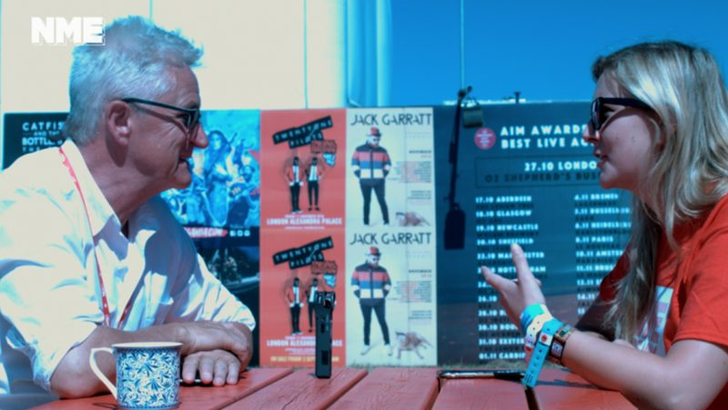 Watch Melvin Benn, The Godfather Of Reading Festival, Fire A Terrible DJ