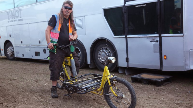 Meet The Man Who's Been On Tour For 20 Years
