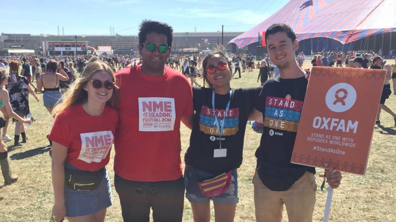Are Oxfam Volunteers At Reading Festival Doing It For A Good Cause, Or A Good Time?